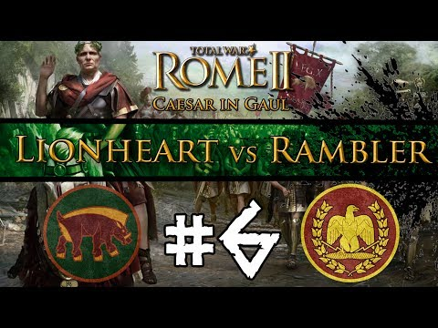 Total War: Rome II - Caesar In Gaul: Multiplayer Campaign w/ The Rambler ~ #6