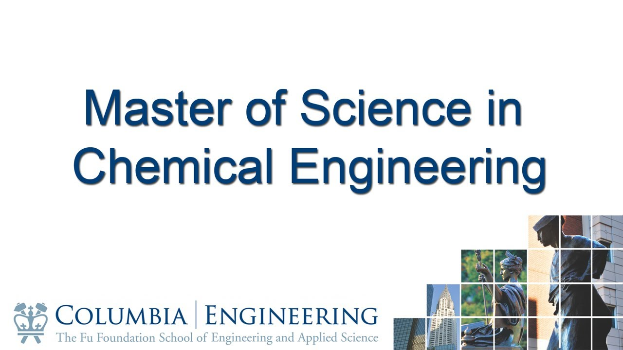 Chemical Engineering college now program