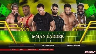 WWE 2K14 Money In The Bank Ladder Match