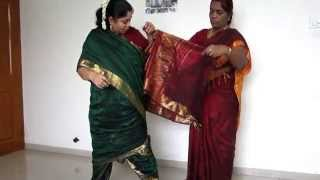 How To Tie Madisar Iyer Saree (www.mamamami.in/shop
