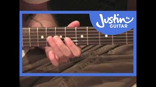 Johnny B Goode Chuck Berry (Songs Guitar Lesson ST-318
