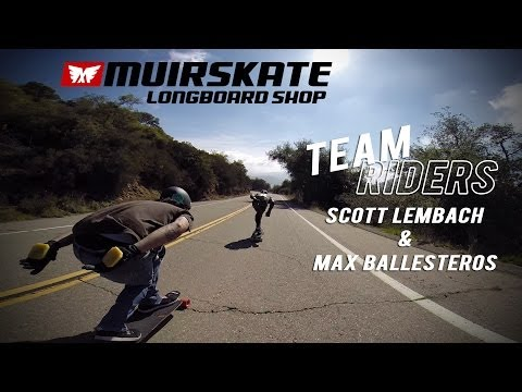 Mountain Mornings with Scott Lembach and Max Ballesteros | MuirSkate Longboard Shop