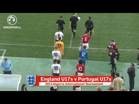 ENGLAND VS PORTUGAL 2-2: Goals and highlights from U17s tournament in the Algarve
