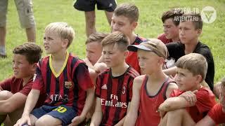 Суражевские ребята сыграли в футбол с чемпионами