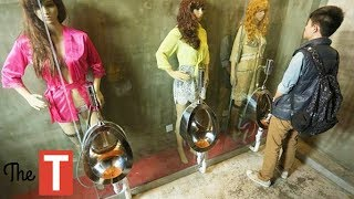 10 Most Bizarre Bathrooms From Around The World