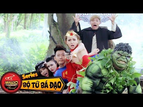 Bộ Tứ Bá Đạo | Tập 10 : Sức Mạnh Tình Yêu (Superman-Wonder Woman-Jedi-Katarina-Thor-Pokemon)