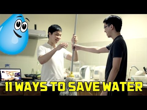 11 Ways To Save Water