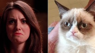 Alison Brie Imitates Popular Internet Faces