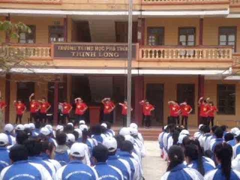 Nhảy flashmob Việt Nam ơi ! Lớp 12C THPT Thịnh Long