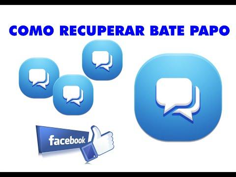 COMO RECUPERAR BATE PAPO EXCLUÍDOS  DO FACEBOOK ( MENSAGENS )