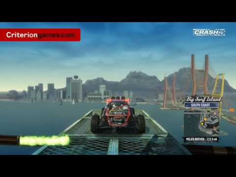 Геймплей Burnout Paradise: Big Surf Island