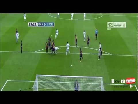 C.Ronaldo frikik Barcelona :(