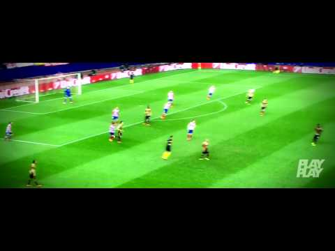 Diego Costa vs AC Milan / Atletico Madrid vs AC Milan 4-1 / 11.3.2014 / skills and goals