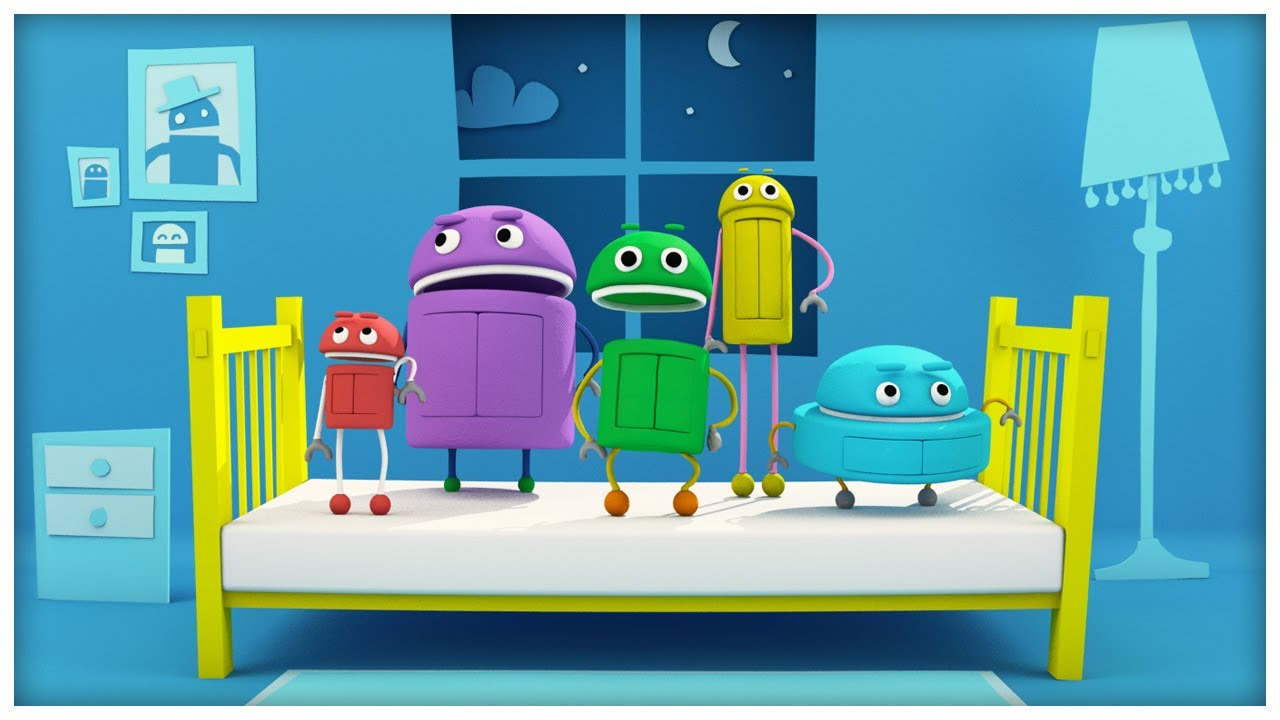 quotjumping on the bedquot classic songs by storybots youtube