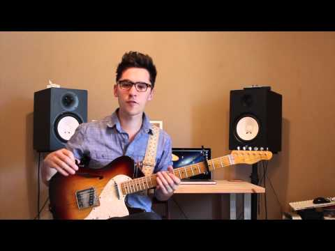 Hillsong - Greater than All (Lead Guitar Tutorial)