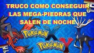 Pokemon X / Y Truco Para Conseguir Las Mega-Piedras Que