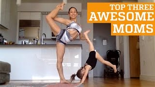TOP THREE AWESOME & INSPIRING MOMS - MOTHER'S DAY | PEOPLE ARE AWESOME