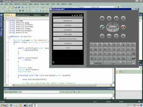 Android Development Using Mono for Android - YouTube