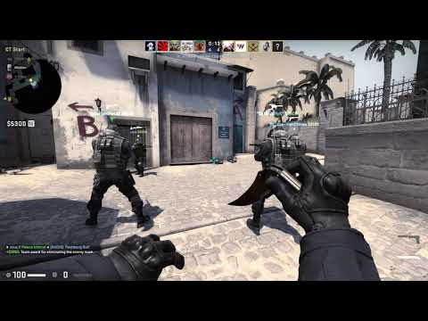 CS:GO Competitive Match#77 Mirage GamePlay