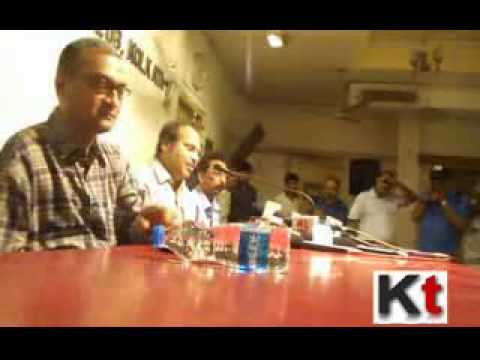 Adhir Ranjan Chowdhury at Press Club