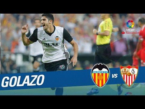 Golazo de Guedes (1-0) Valencia CF vs Sevilla FC