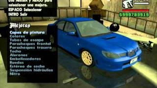 GTA San Andreas Tuning Cars Mod (part 3)