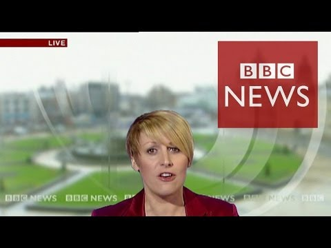 'That sinking feeling' - Reporter 'sinks' live on air - BBC News