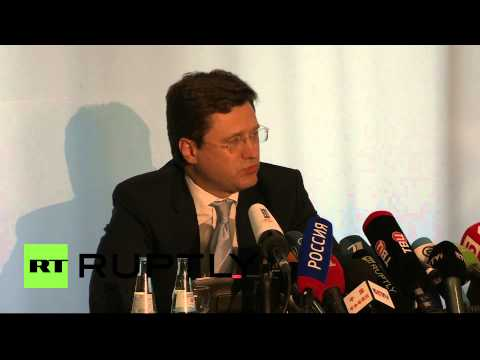 Germany: Russia will keep supplying gas to Europe - Novak