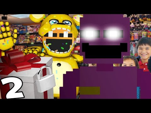 SPRING BONNIE LOCKS AWAY THE PUPPET MASTER || Dayshift at Freddy's 2 (Five Nights at Freddys)