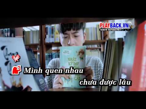 [ Karaoke HD ] Vội Vã Yêu Nhau Vội Vã Rời - Lương Bích Hữu Ft. Ngô Kiến Huy [Official]