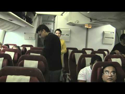Jet Airways flight from Heathrow to Delhi International Airport