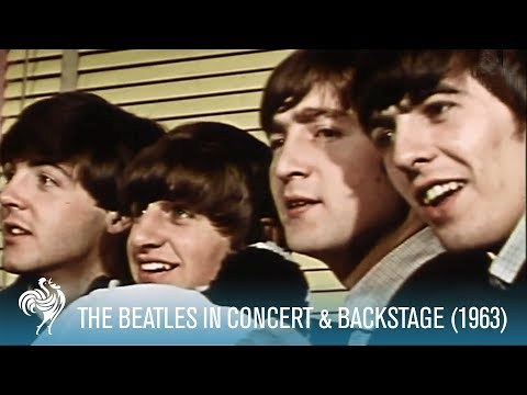 Beatles Concert and Backstage * Fab Four (1963)