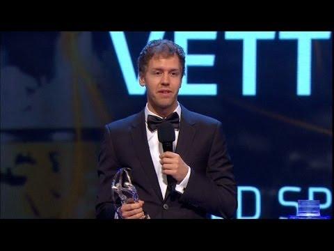 Vettel e Franklin levam prêmio Laureus