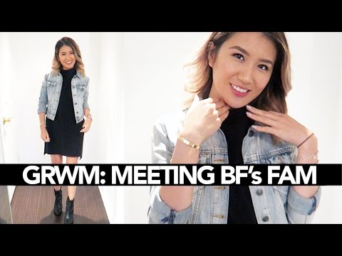 GRWM: Meeting BF's Family || Sylvia Jade