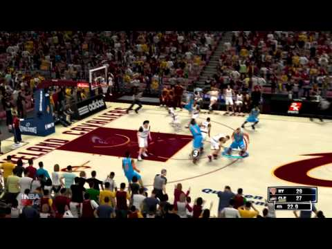 NEW YORK KNICKS Vs CLEVELAND CAVALIERS 03.08.2014 (NBA2K14)