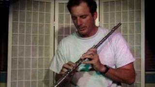 Flute Lesson How To Play The E Note With Fingering