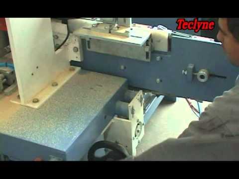Máquina para Usinagem de Madeira Esquadrejadeira Dupla Autmática