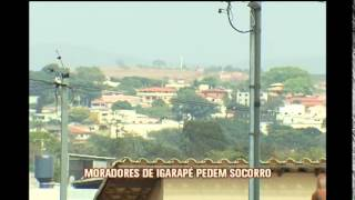 Moradores est�o assustados com aumento de assaltos em Igarap�