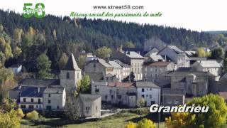 Roadbook moto Haute Loire : Les Gorges de l'Allier
