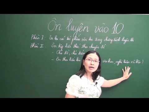 Luyện thi vào lớp 10 môn Ngữ Văn - Cô giáo Nguyễn Thu Trang [HOCMAI]