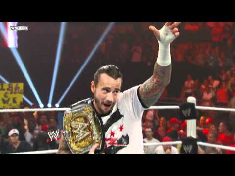 WWE.com Exclusive: CM Punk tells the WWE Universe he's back -2TdWbBhxzpY