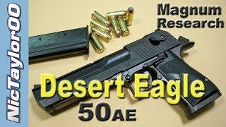 IMI Desert Eagle 50AE Pistol REVIEW