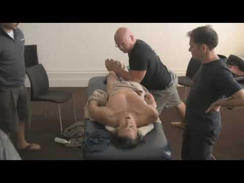 Melbourne Massage Courses Demonstration - Very Deep Tissue