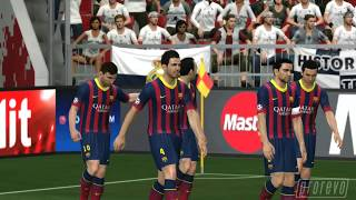 PES 2014 Real Madrid Vs. FC Barcelona 1st Half *PC