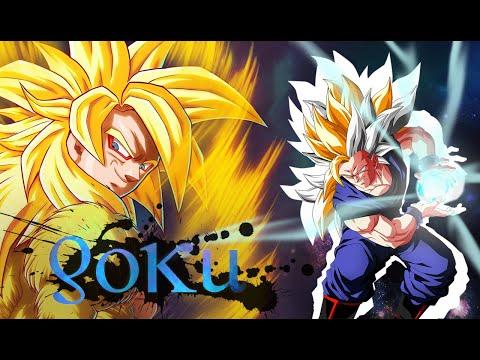 Dragon ball AF - Trasformazioni Goku (ssj 21-30)