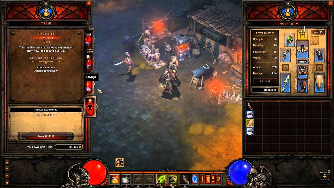 for Diablo 3 crafting items