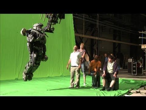 Как снимали трейлер HALO Reach - Develiver Hope (Доставить надежду)