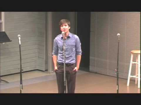 Matt Doyle singing The One Who Ran Away by Ewalt and Walker