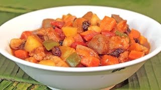 Pork Menudo Mama Sita's Series by Cookingwithpeachy.com
