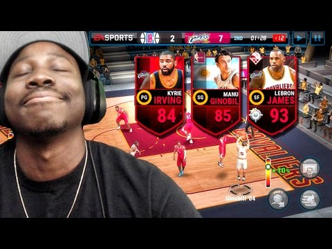 GOING FOR UNDEFEATED SEASON IN NBA FINALS! NBA Live Mobile 16 Gameplay Ep. 20
